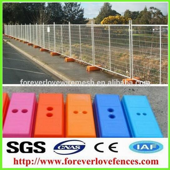 Outdoor used Hot sell high quality best price Canada standard iron temporary fence garden fence hous