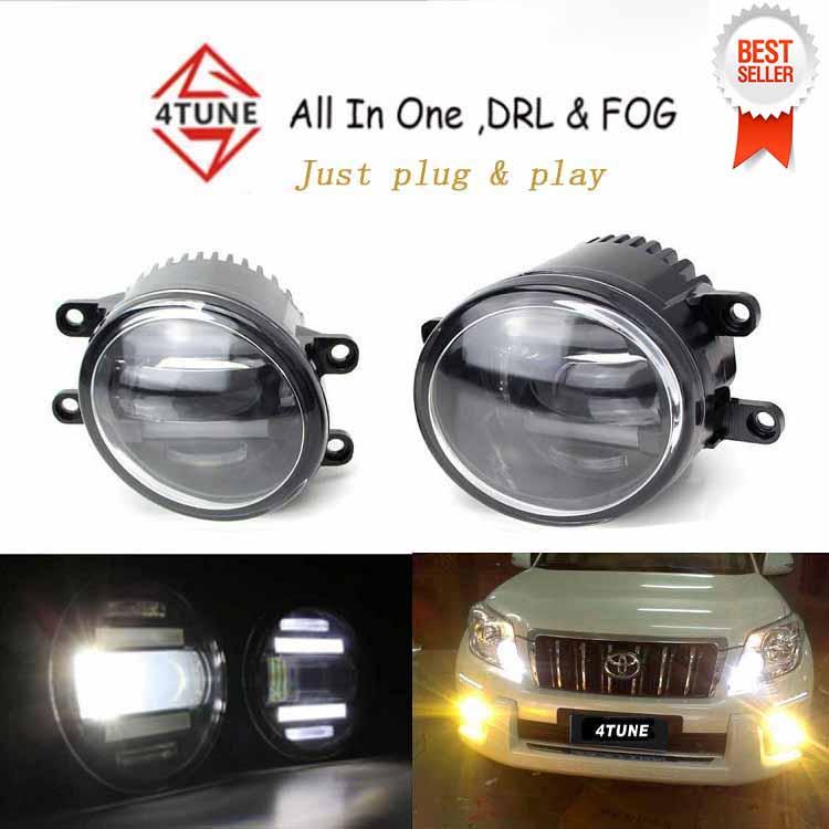 Top quality Hot sales Waterproof led Daytime Running Light Fog Light