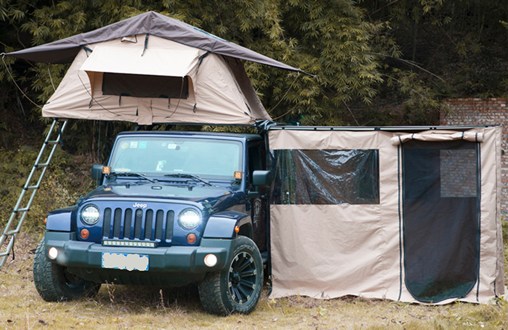 Soft shell Roof top tent