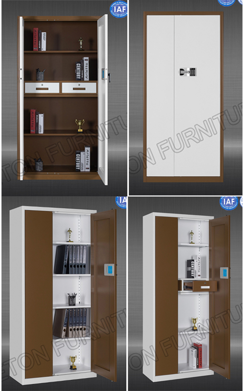 Full Steel Single Door Vertical Type Office Filing Cabinet