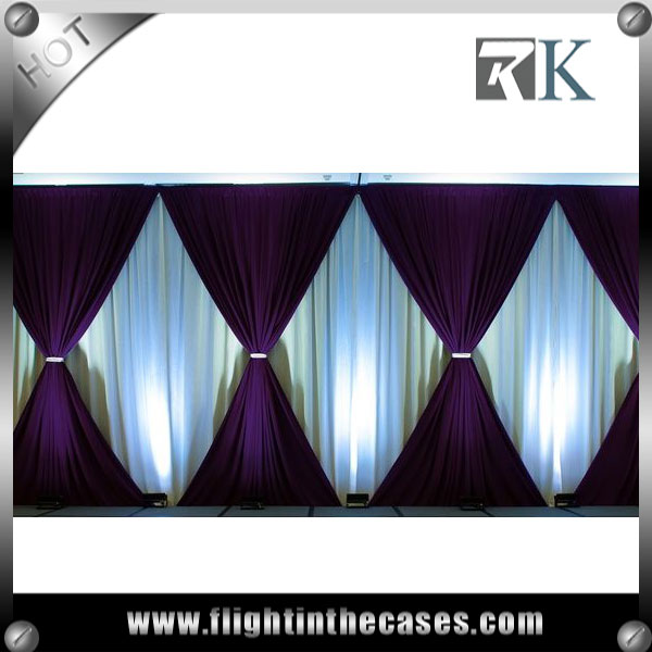 RK pipe and drape stands wedding anniversary decoration ideas