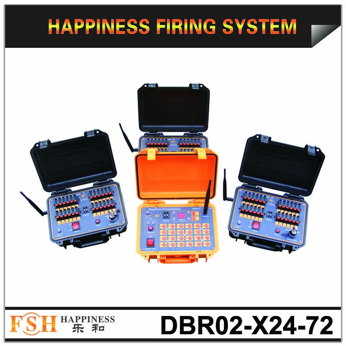 Hot sale 72 channels fireworks firing system with sequential function