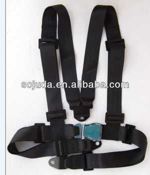 4 points boat safety belts& harness racing seat belt