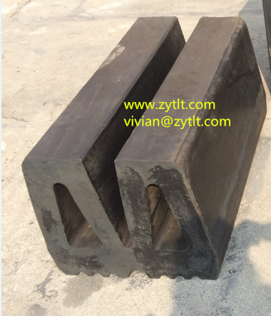 factory directly supply W type marine rubber fender for sale