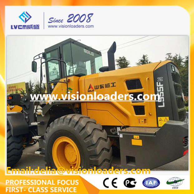 SDLG L955FN Wheel loader L955F Shovel loader for sale