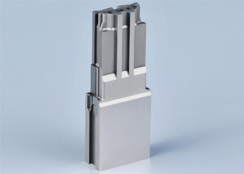 Wire Cut Processing Connector Mold Parts Ra 0.44 Surface Roughness