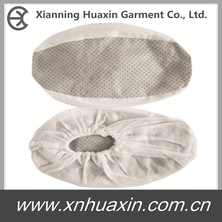 HXS-03:PP Shoecover with PVC Dots Sole