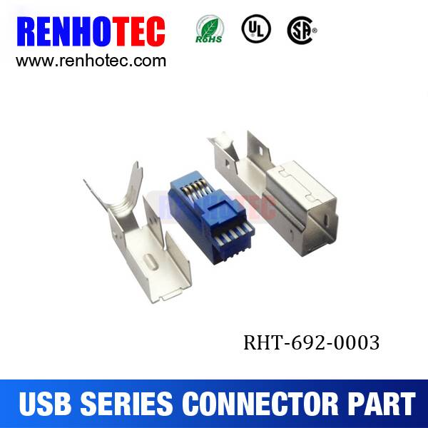 China supply micro usb connector parts of computer accessories