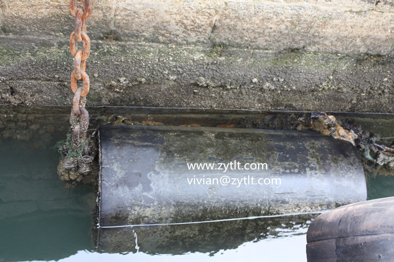 factory direct supply cylindrical marine rubber fender used for jetty