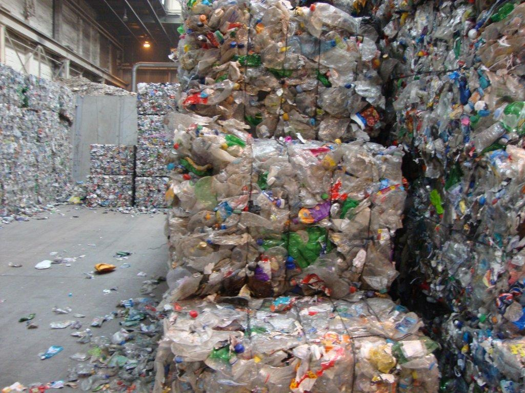PET Bottles In Bales