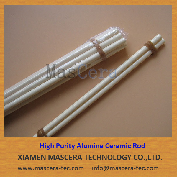 Mirror Polishing Al2O3 Alumina Ceramic Insulating Rod