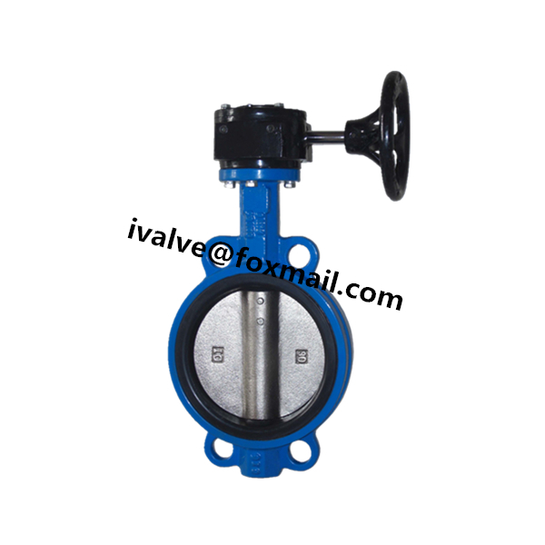 GG25 Wafer Gear Operated Butterfly Valve