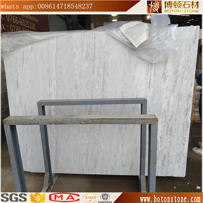 A grade white volakas marble floor and wall slab tile
