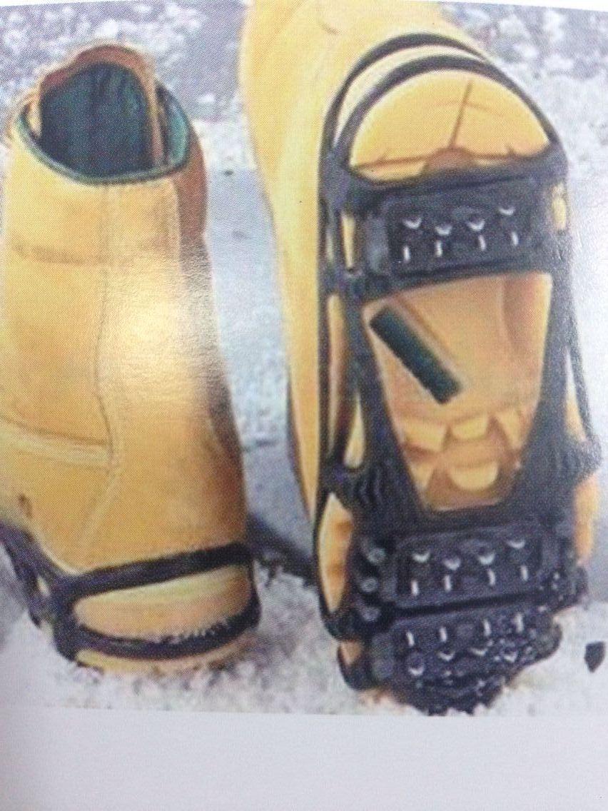 men designer shoes antislip ice skates ice fishing safety shoes