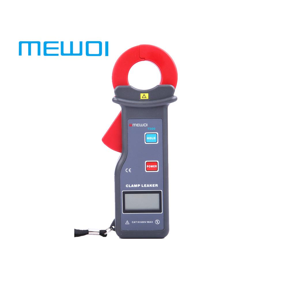 MEWOI7300-AC 0.000mA~60.00A High Accuracy AC Clamp Leaker/Leakage Current Clamp Meter