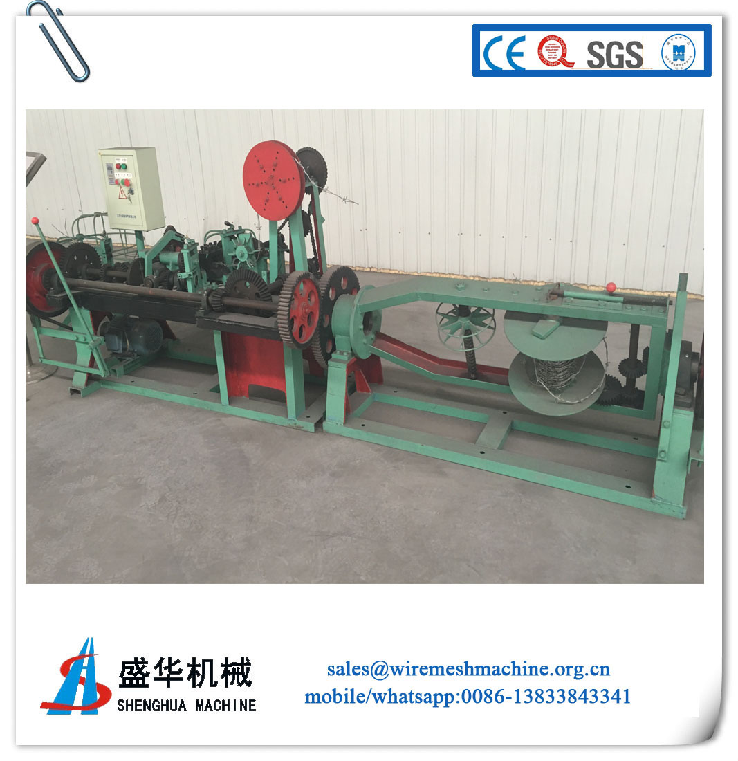Sell Barbed Wire Machine(wire diameter:1.5-2.5mm)
