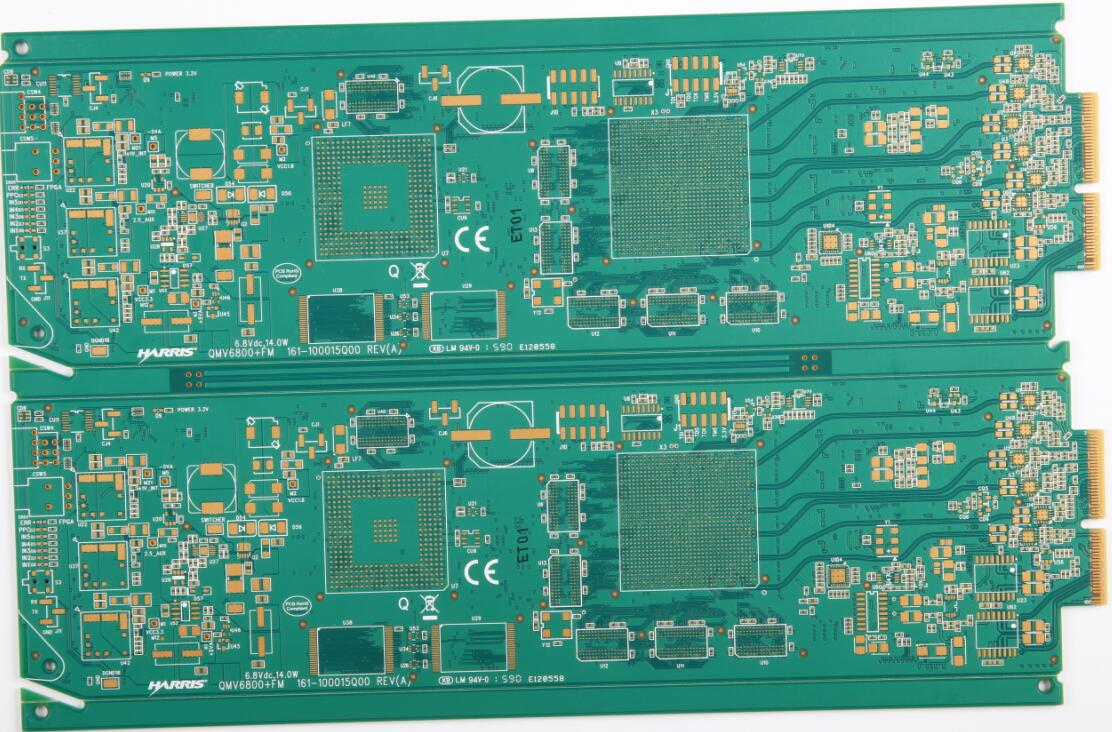 DC Power PCB(10 Layers)