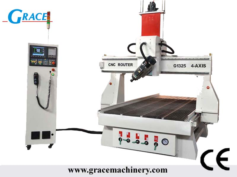 Grace 4 axis cnc router machine 1325