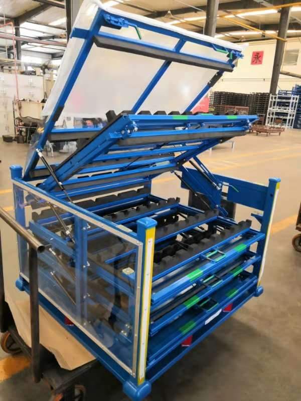 Customize Warehouse Cvj Transmission Shaft Metal Pallet