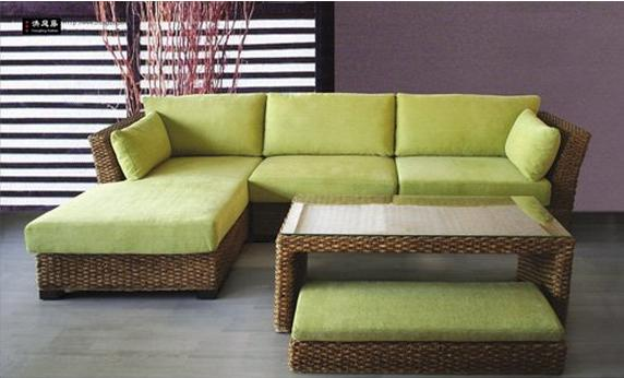 Water hyacinth sofa sets