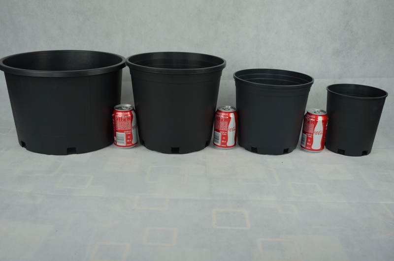Plastic Garden Pots, Flower Nursery Pots, Gallon Pots with price