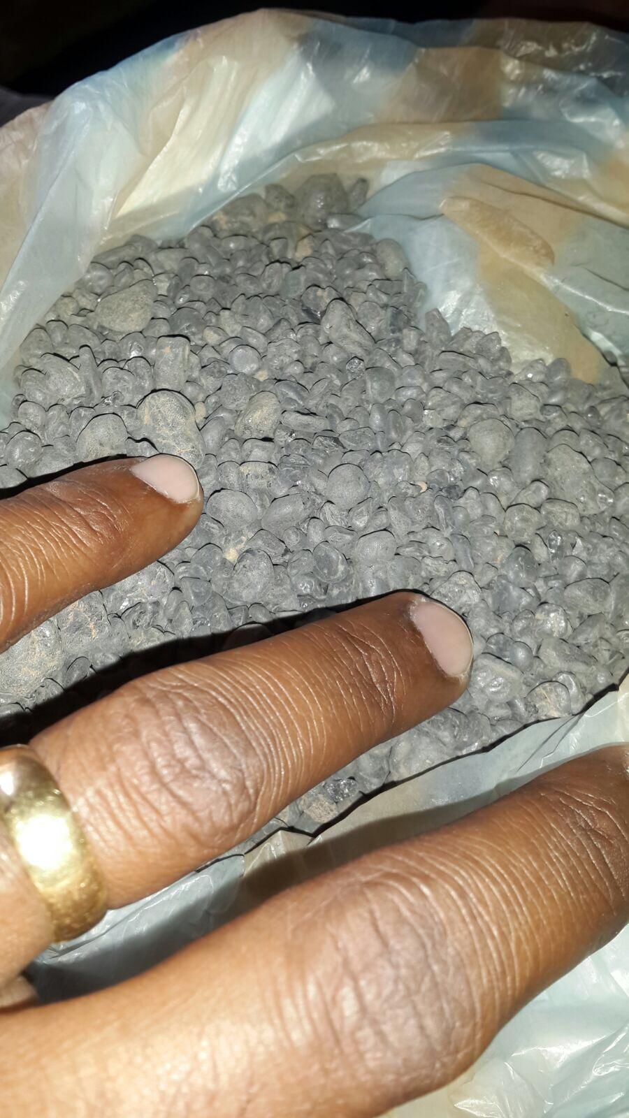 New arravalrs Tin ore