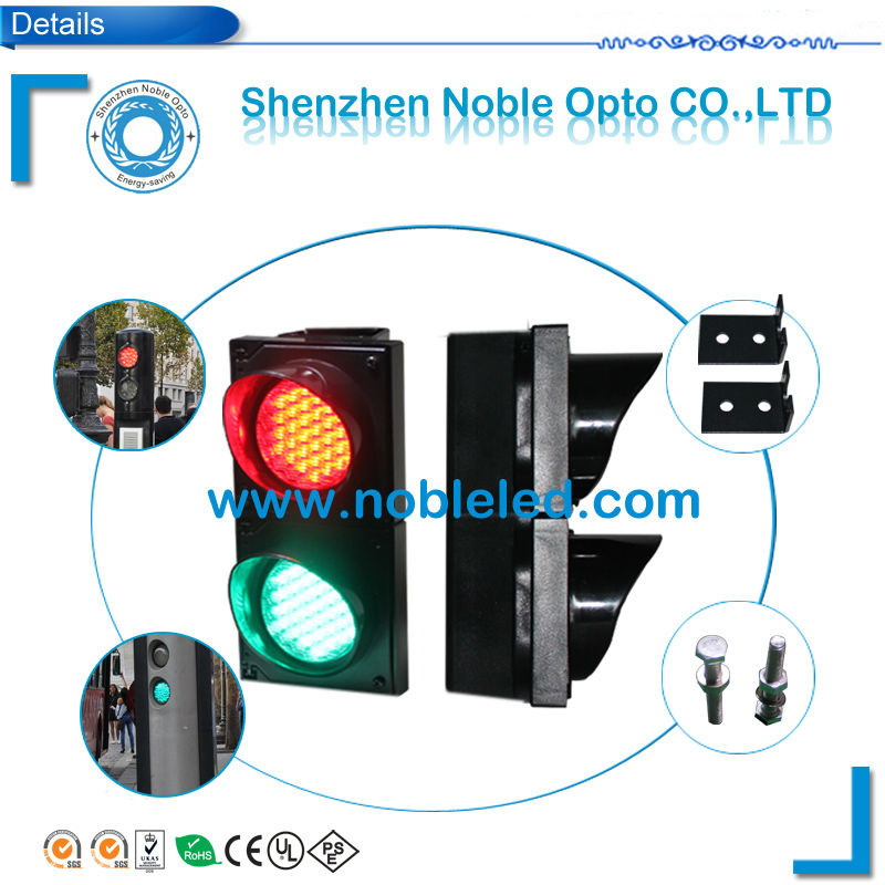 road safety product 100mm led traffic light for Europe market