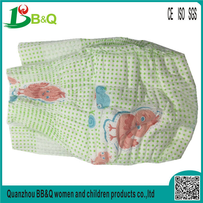Factory direct disposable soft breathable large size fluff pulp organic baby diapers