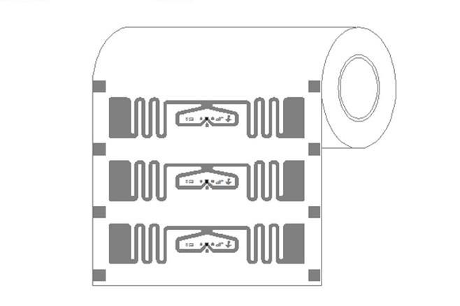 RFID UHF Impinj E52 Sticker Tag