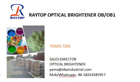 CHINA fatory with high quality fluorescent whitening agent OBA 184 for PVC,PP