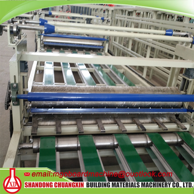 fiber cement board machine mgo wall panel production line