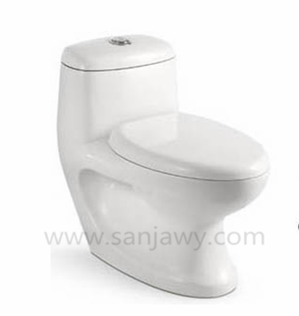 American standard one piece floor mounted wc washdown toilet