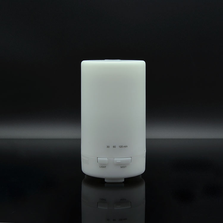 Oil Lamp Diffuser 50 ml Bottle Plastic White Automatic with Cool Mist and 7 Colors for Small Room