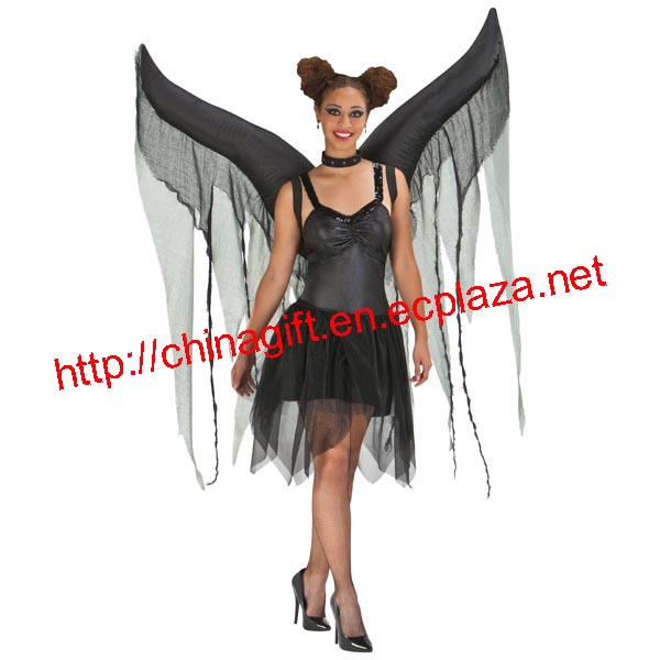 Inflatable Wings - Dark Angel