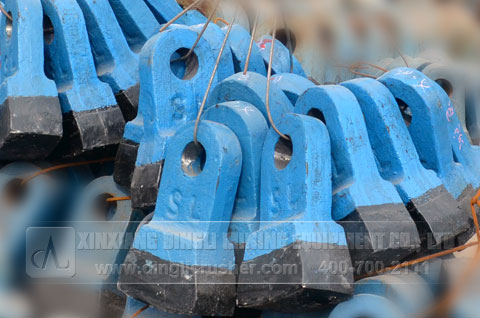 hammer crusher spare parts liner hammerheas rotor