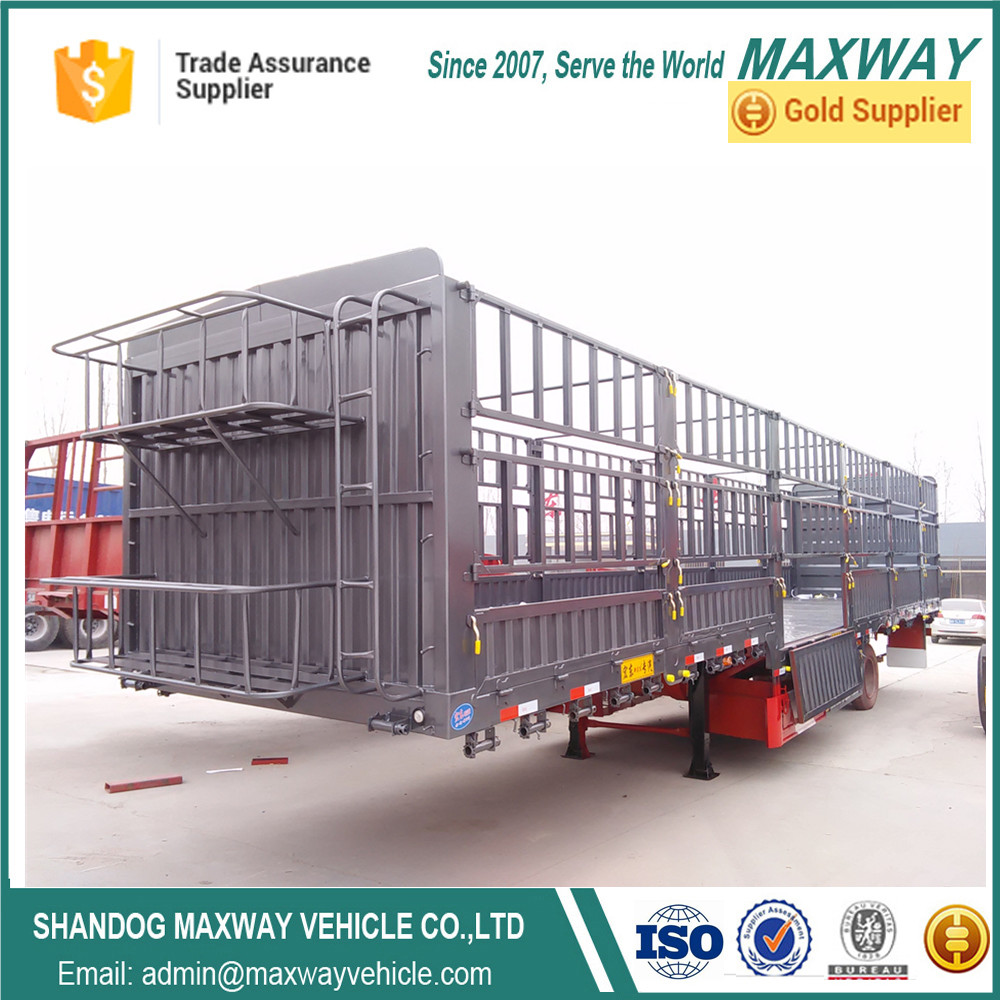 High Quality Animal cargo Transport fence Truck Semi-tailers