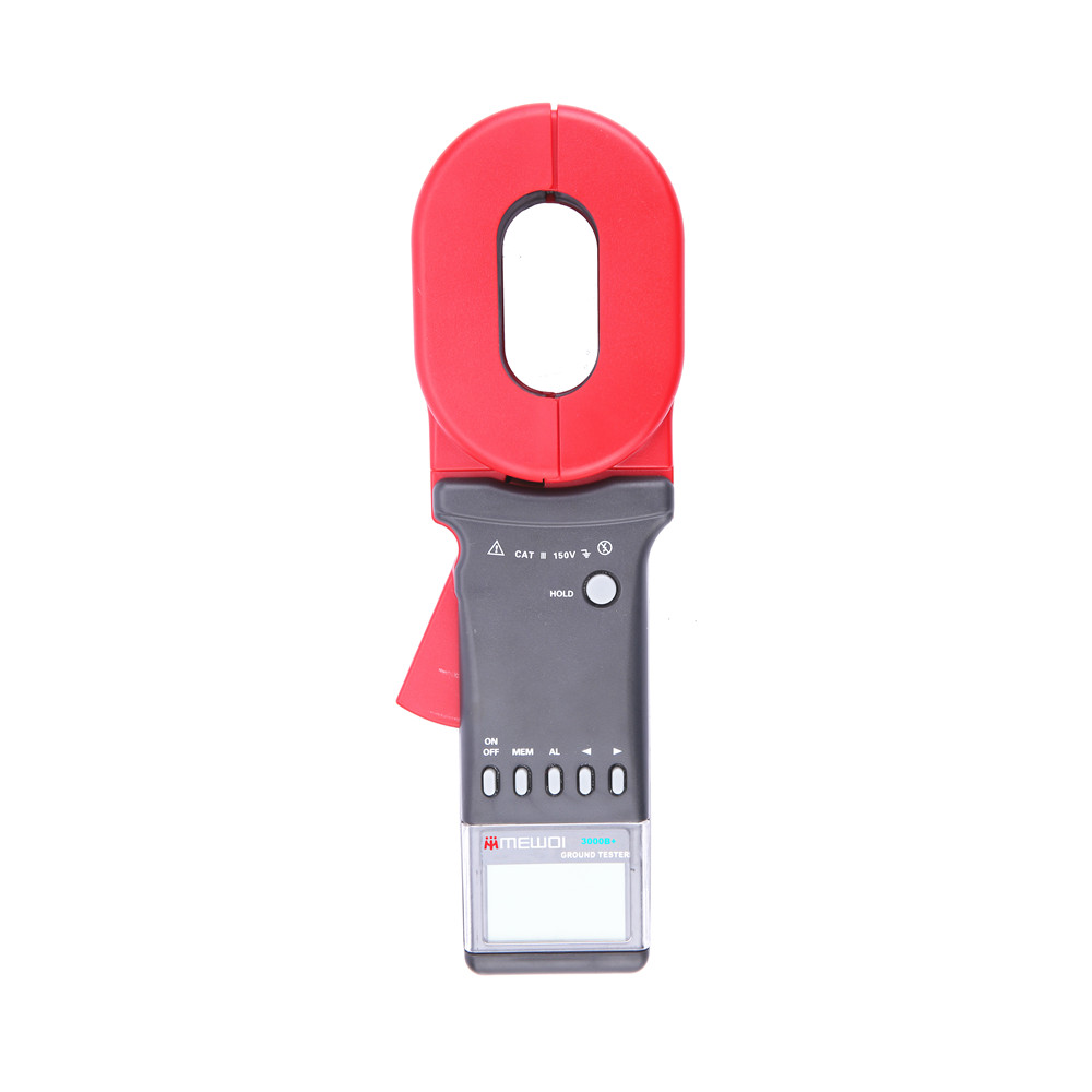 MEWOI3000B+-0.01-200ohm Clamp Earth Resistance Tester/Meter,earth ground tester,GEO Tester