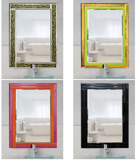 Modern style Hanging mirror/Bedroom mirror/Decorative mirror/frameless mirror
