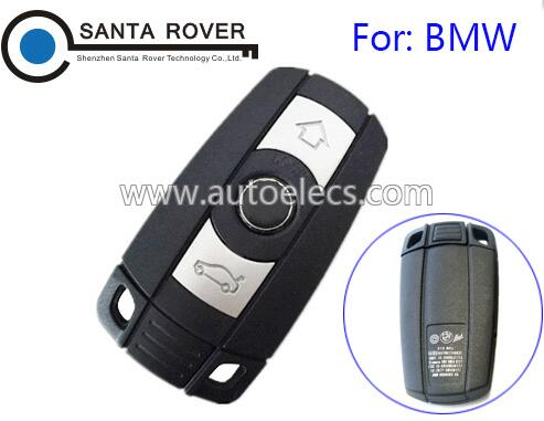 For BMW 1 3 5 6 7 Smart Remote Key Case 3 Button No Battery Cover