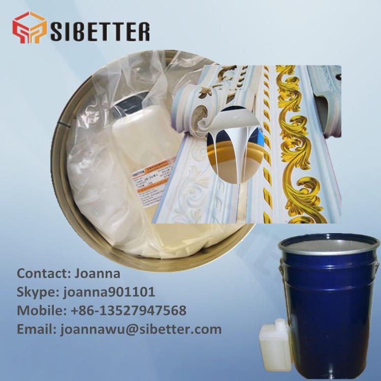 Gypsum Decoration Mold Making RTV 2 Liquid Silicone Rubber