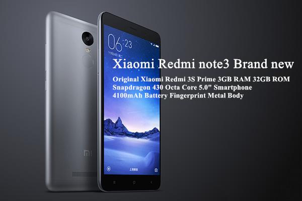 Xiaomi Redmi note3