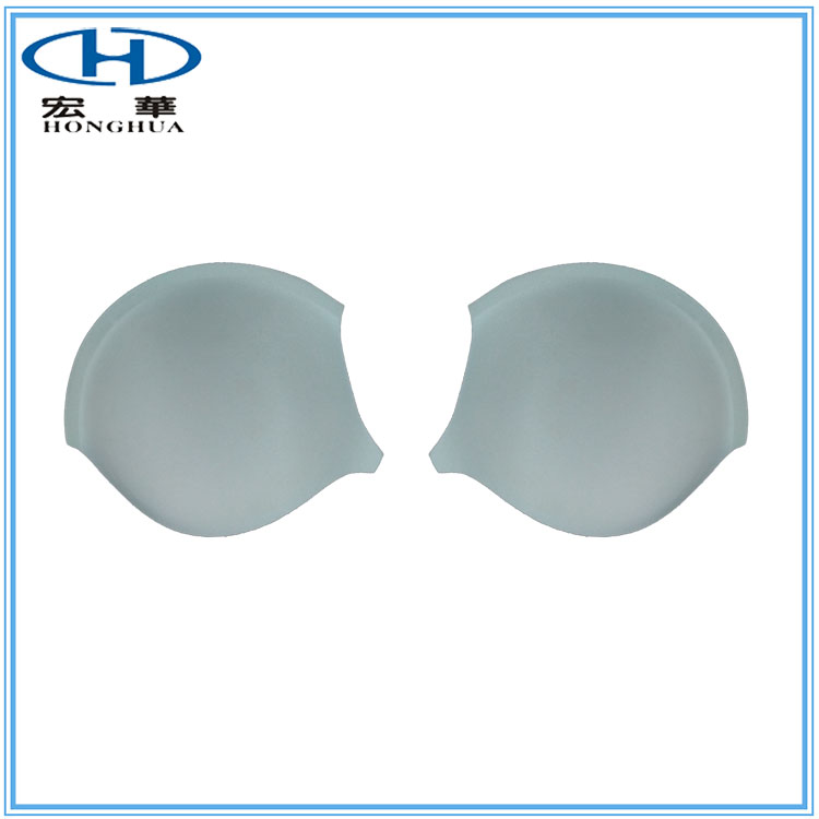 Sponge Foam Bra Cup with Polyester Cotton Material Cover