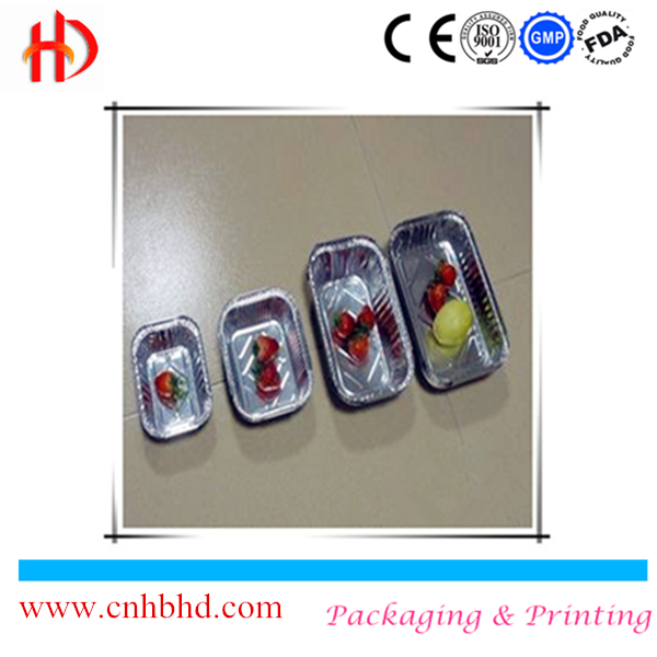 Best selling good quality 100% food grade disposable pollution free aluminum foil container 5300ml