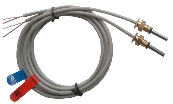 Dedicated DS18B20 digital temperature sensor technology - heat meter