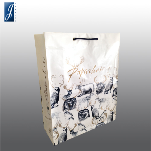 Customized big  promotional plastic bag for PAPERCHASE