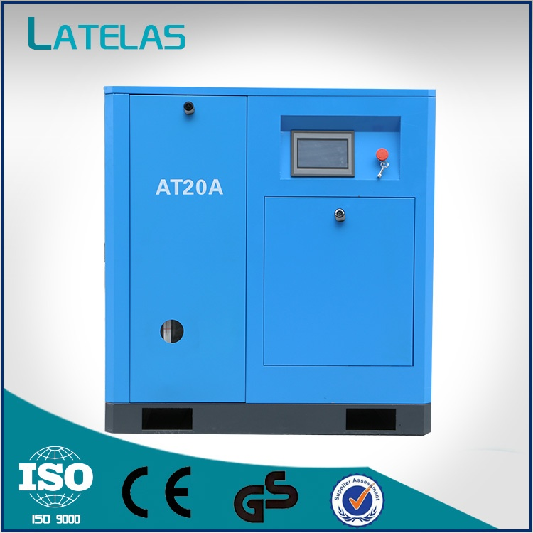 15kw Permanent Magnet Frequency Conversion Screw Air Compressor