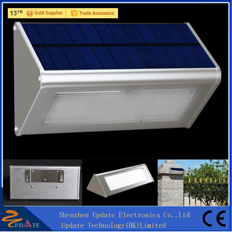Aluminum Alloy 48LED 800lm Solar Powered Radar Sensor Lights