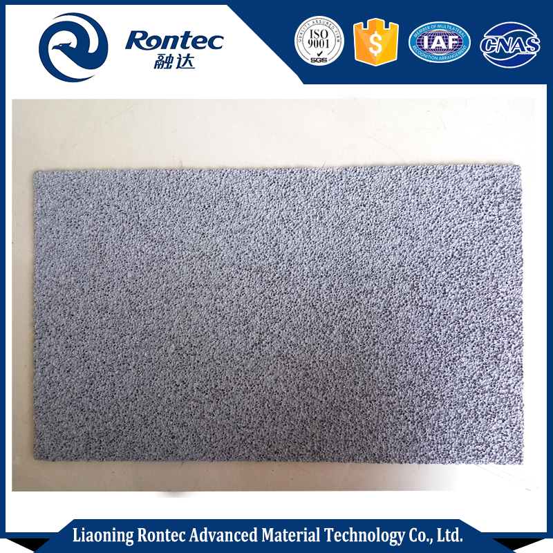 Porous foam for protective and cushioning material