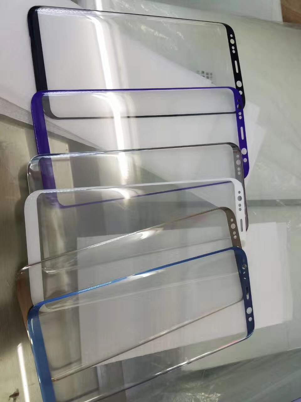 3D Tempered Glass Screen Protectors for iPhone/Samsung