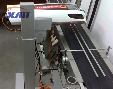 Automatic bottle laser date printer